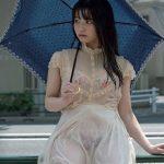 人気グラドルが、びしょびしょ濡れ濡れ透け透けになるラッキーエロ