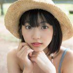 """武田玲奈 """"日本一可愛い19歳"""" ハロナの潮吹き岩でメリハリセクシーボディを披露したグラビア"""