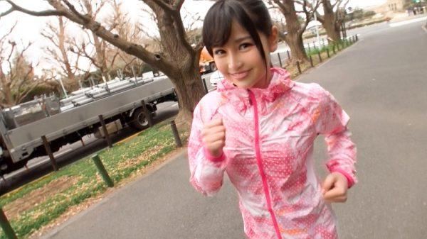 MGS動画:『ジョギングナンパ 06』りさ(小野寺梨紗) 19歳 グラビアアイドル 200GANA-1286