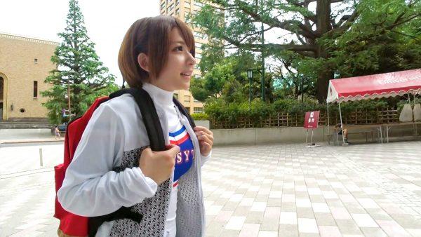 チアガールナンパ 01 ナンパTV りか 22歳 大学生 200GANA-1473(麻里梨夏)