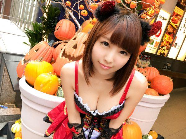 ハロウィンナンパ 07 はるら 21歳 服飾系の専門学生 200GANA-1192