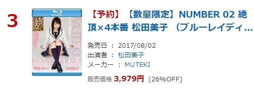 DMM通販 R18 日間DVDランキング ベスト100