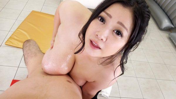 【VR】VR長尺 芸能人グラビアアイドル中出し超高級ソープ嬢 小向美奈子